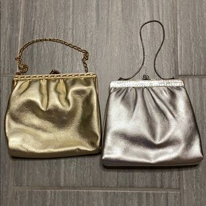 Gold clutch (Silver clutch has been sold)